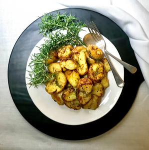 Vegetable - Double Cooked Chat Potatoes with Garlic and Rosemary