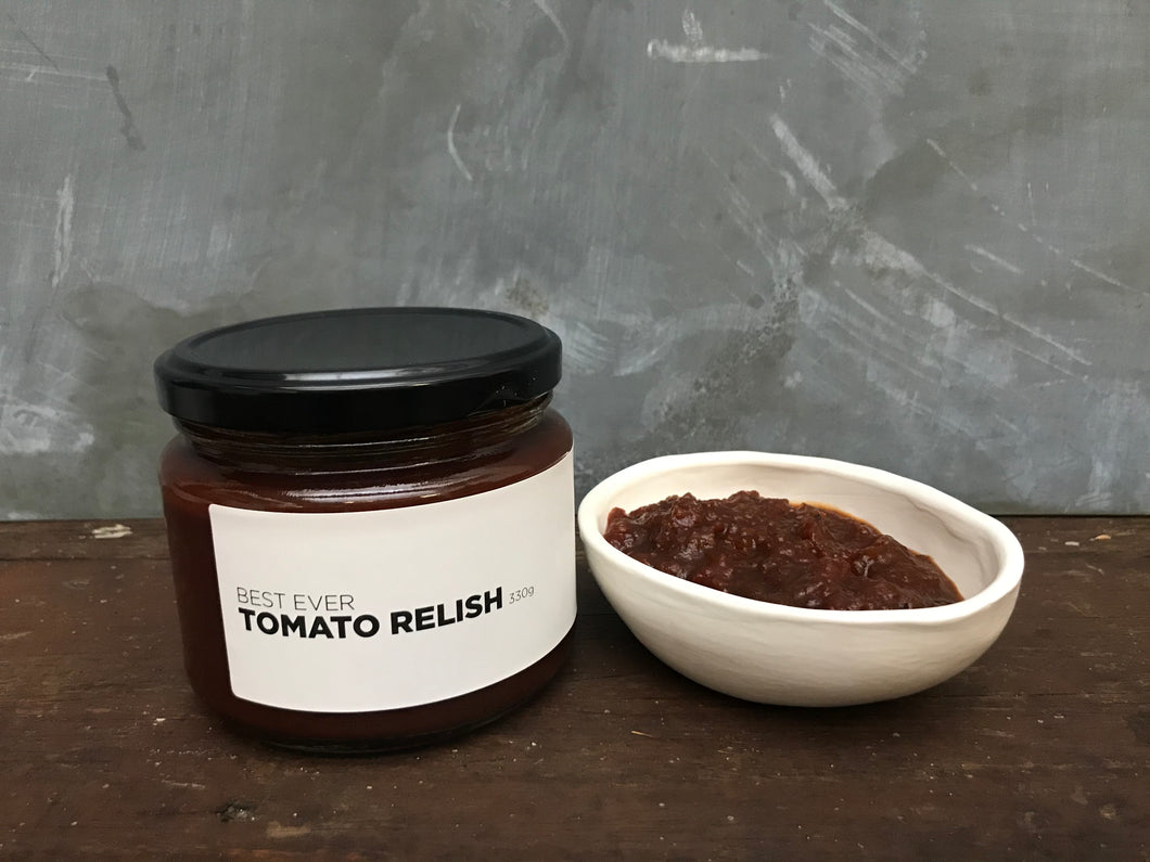 Best Ever Tomato Relish