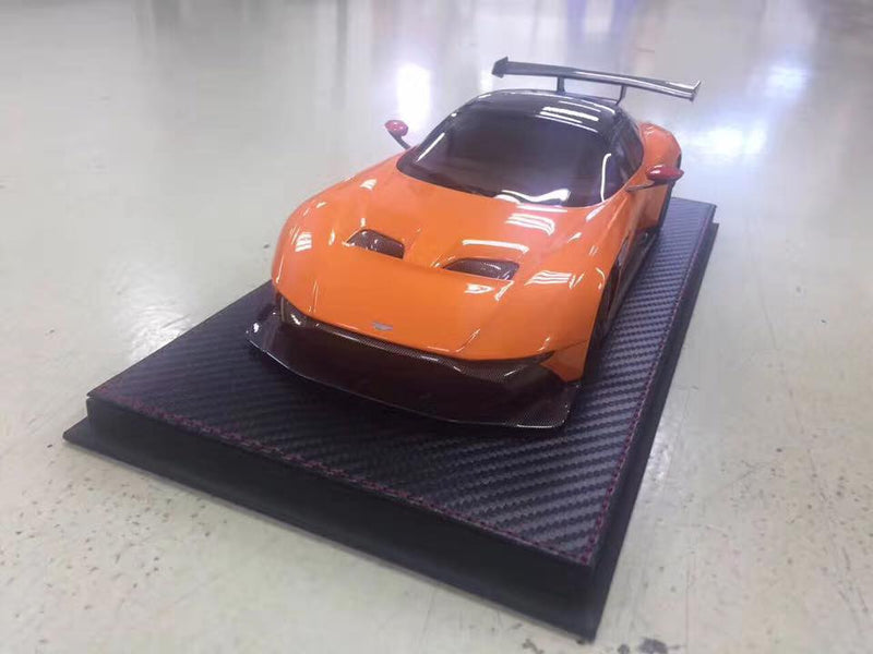 this week coming (Avanstyle) Aston Martin Vulcan resin scale 1:18 (Orange)  limited 600 pcs
