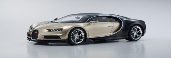 Kyosho 1:12 Bugatti Chiron (Gold) KSR08664GL-B Resin Car model Limited 300 units available on end of Jan 2019 Pre-order now