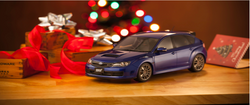 Kyosho  OttO 1:18 Subaru STI R205 Blue (OTM723-B) Blue Resin Car model available on end of Jan 2019