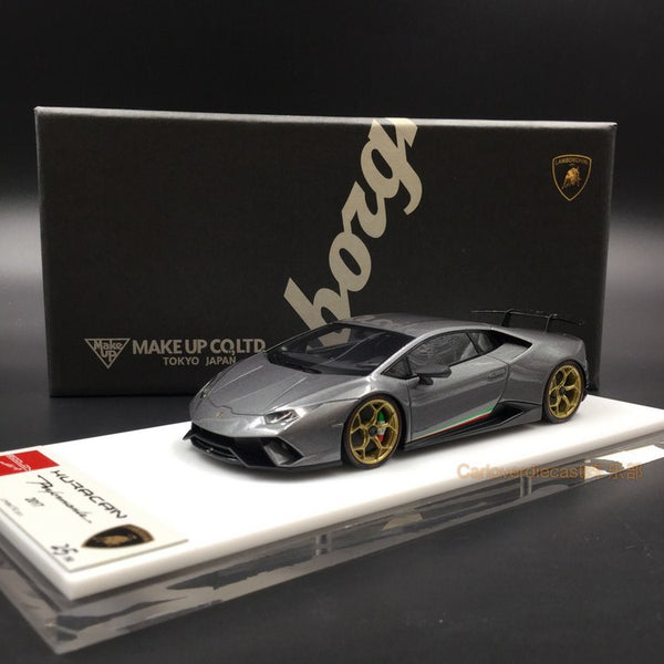 Makeup 1:43 Lamborghini Huracan Performance 2017 Center Lock wheel ver. Grigio Titans (EM384E)