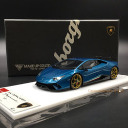 Makeup 1:43 Lamborghini Huracan Performance 2017 Center Lock wheel ver. Artemis Green (EM384D)