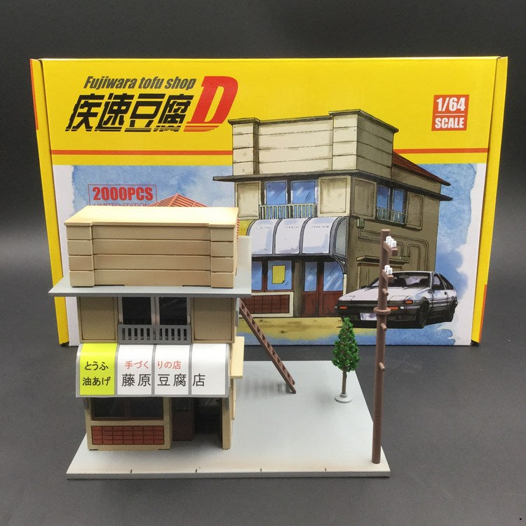 Re-production 1:64 Yumebox Tofu shop ready on end of Sep 2018 pre-order now