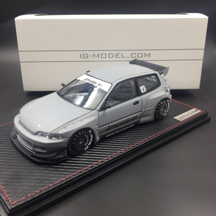 Pre-order now for CLDC exclusive edition Ignition model 1:18 Honda Civic EG6 After Fight