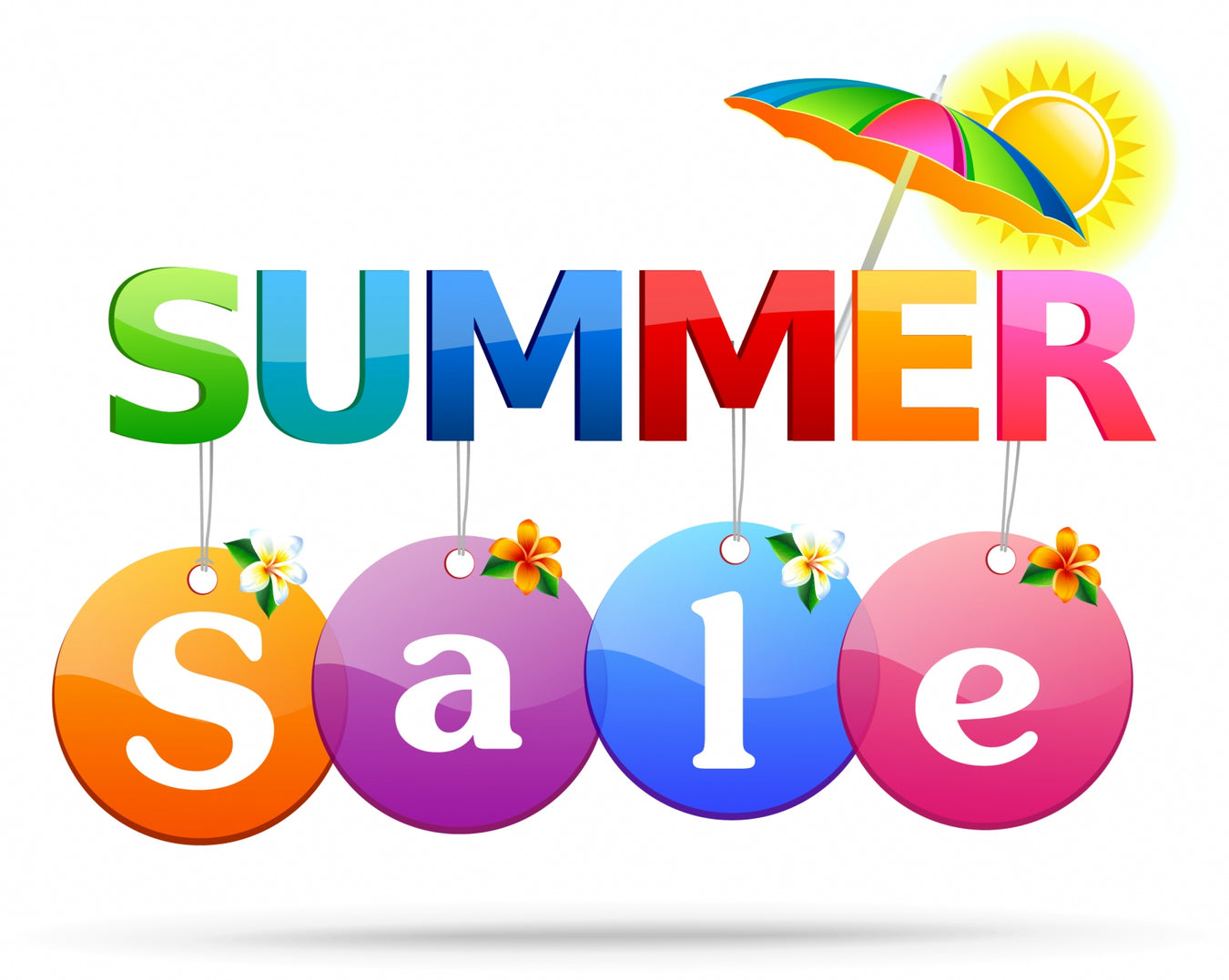 Summer Sale From 4th July to 15th Aug when stock last