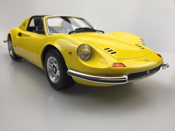 Top Marques - Dino 246 GTS in Yellow resin scale 1:12 (TOP12_02D)available on end of April 2018 Pre-order now