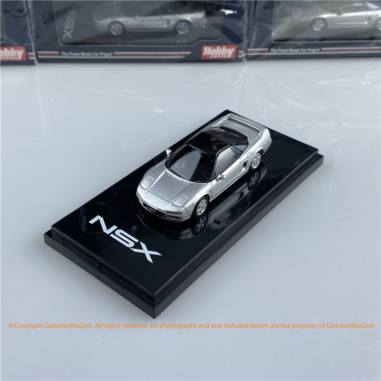 Hobby Japan 1:64 Honda NSX (NA1) 1990 Silver (HJ641006S) diecast car model avaialble