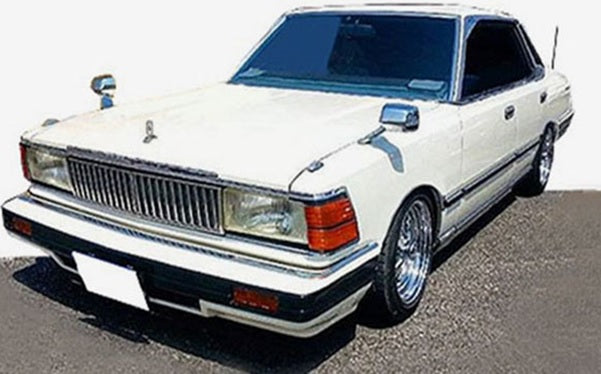 Ignition Model 1:43 Nissan Cedric (P430) 4Door Hardtop 280E Brougham  White  ※Wire-Wheel(IG1452) resin car model available on Aug-Sep 2020 pre-order now