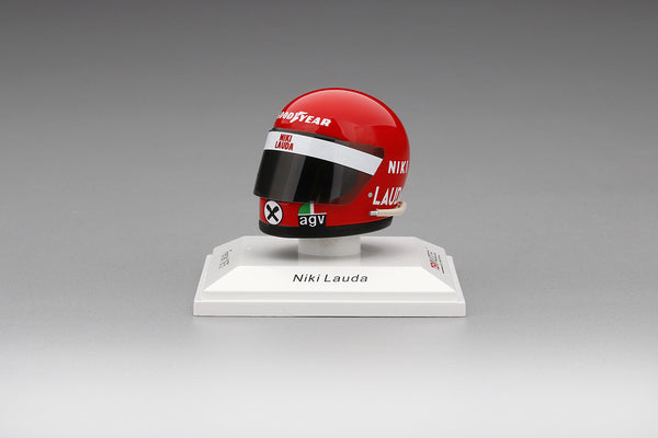 TSM-Model Helmet: Niki Lauda - Ferrari 1975 resin scale 1:8 (TSMAC005) available now
