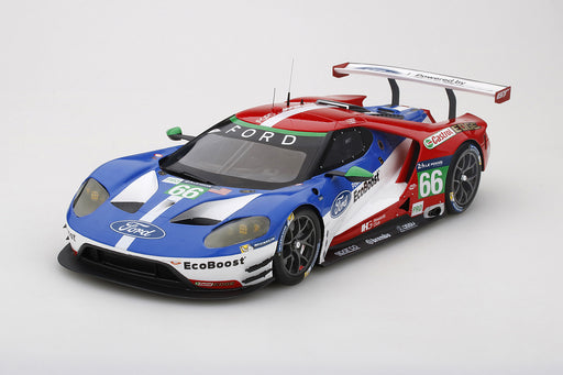 (Topspeed) Ford GT #66 LMGTE PRO 2016 Le mans 24 Hrs / 4th Place Ford Chip Ganassi Team UK  Resin Scale 1:18 Limited 999 pcs (TS0066) available date to be advise (waiting for Topspeed update)