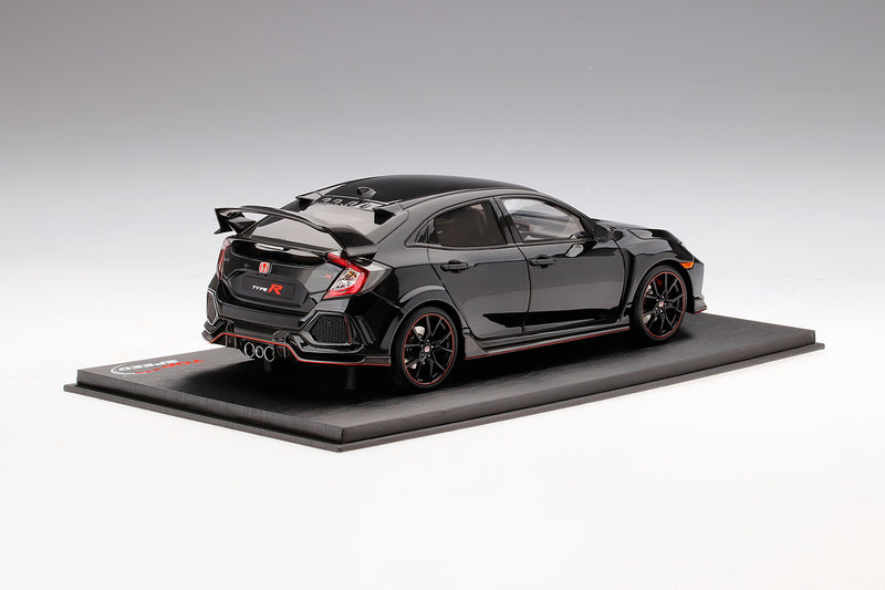 TopSpeed 1:18 Honda Civic Type R 2017 Crystal Black Pearl (LHD) resin model (TS0154) Limited 999 pcs available on Sep/Oct 2018 pre-order now