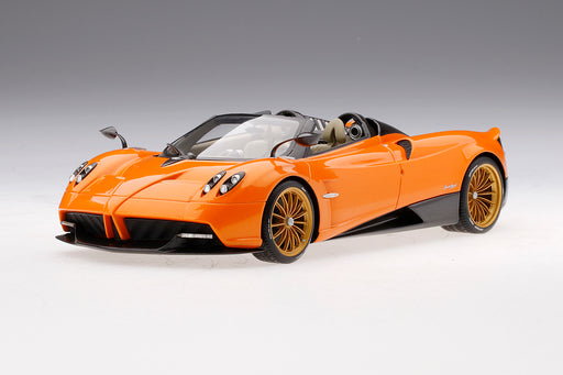 TopSpeed 1:18 Pagani Huayra Roadster  Arancio Saint Tropez resin model (TS0171) Limited 999 pcs available on Sep/Oct 2018 Pre-order now