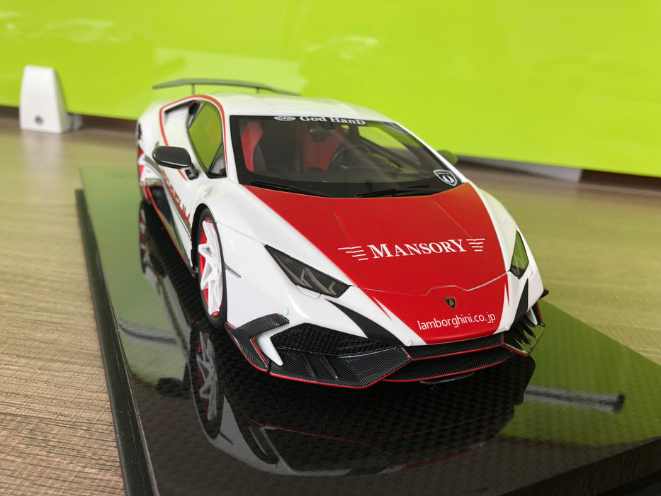 Mansory 1:18 Huracan Resin model (Red) available on end of Aug Pre-order now