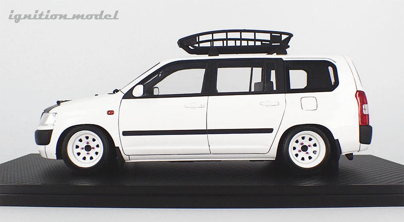 Ignition Model 1:18 Toyota Probox GL (NCP51V) White (IG1646) resin car model available on Aug 2020 Pre-order item