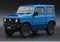 BM Creations 1:18 Suzuki Jimny (JB64)  Brisk Blue Metallic (Right Hand Drive )  Japan Special 660cc Engine(18B0019) diecast Full open available on October 15th 2020 Pre order now