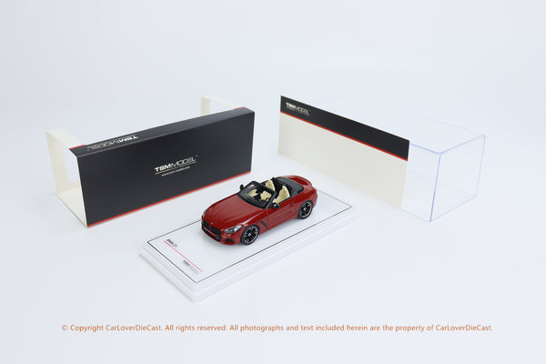 TSM 1:43 BMW Z4  2019 San Francisco Metallic(TSM430457) resin car model available now
