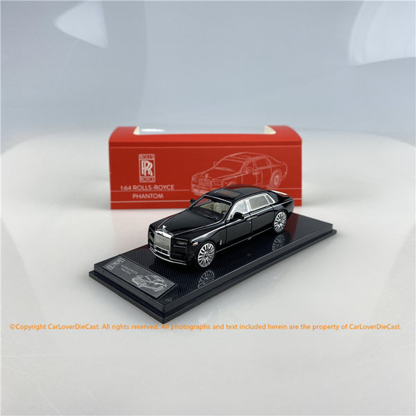 SMALLCARART 1:64  RR Phantom VIII Black  (SK164005B) Diecast Car available on Mid Oct 2020 pre-order now