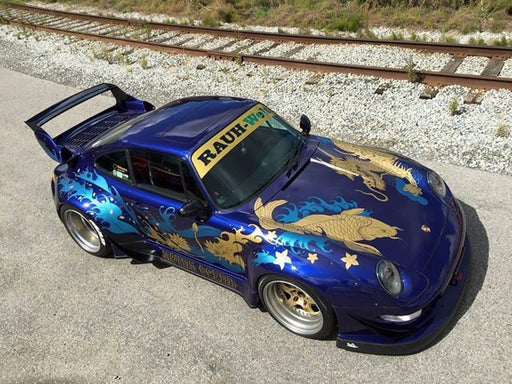 "Fuelme 1:43 RWB 993 ""Royal ocean"" (FM43002LM-F) resin car model limited 200 pcs available on end of July 2019 pre-order now"