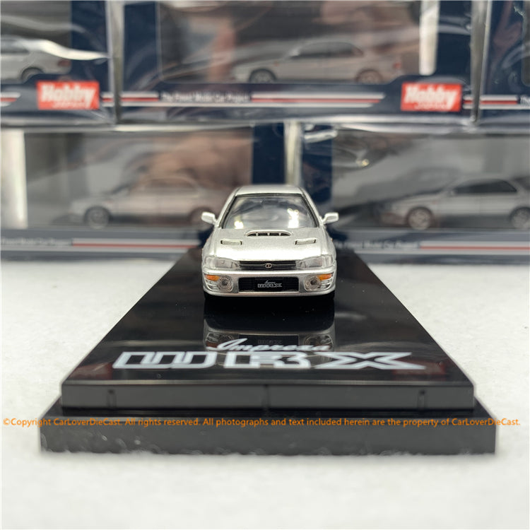 Hobby Japan 1:64 SUBARU IMPREZA WRX (GC8) Light Silver Metallic  (HJ641013S) diecast model