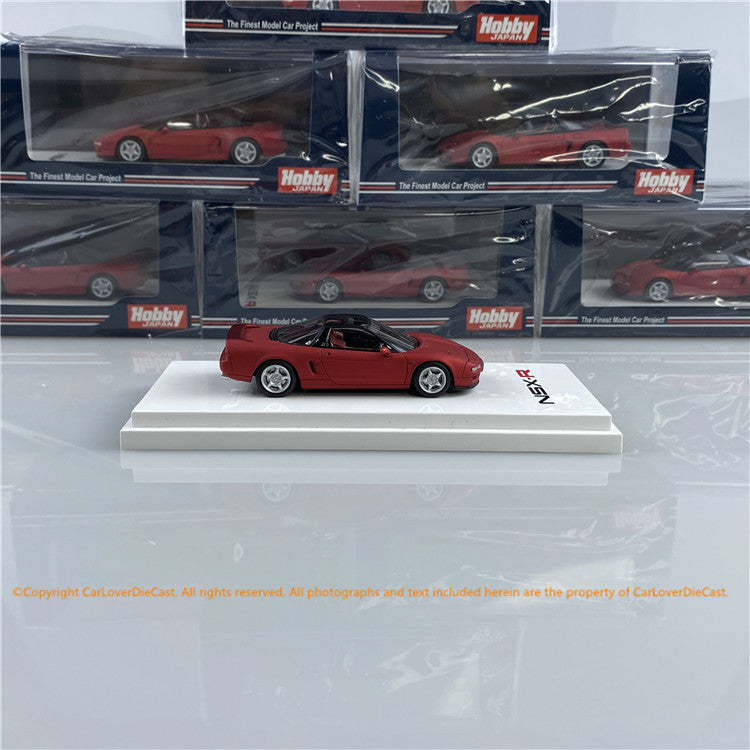 Hobby Japan 1:64 Honda NSX (NA1) Type R 1992  Matte Red Metallic (HJ641006RMR) diecast car model avaialble