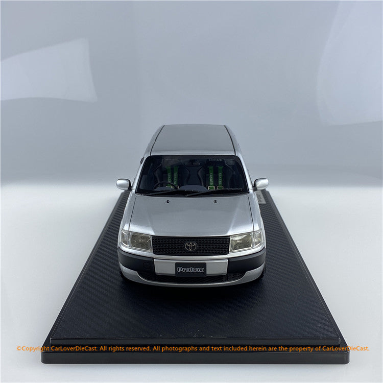 ignition Model 1:18 Toyota Probox GL (NCP51V) Silver ※Watanabe-Wheel (IG1645) resin car model