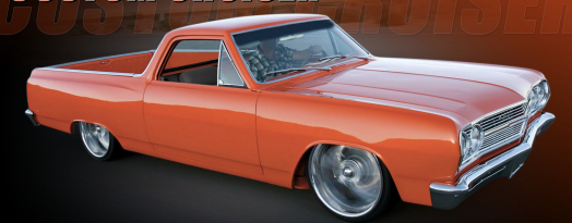 ACME 1:18 1965 Chevrolet EL Camino SS Custom Cruiser Custom Orange Metallic *All could be opened* (A1805412 ) diecast car model available on the JUNE 2021 pre order now
