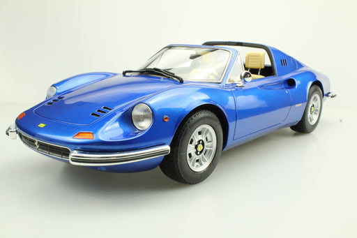 Top Marques - Dino 246 GTS  in Metallic Blue resin scale 1:12 (TOP12_02E) available on end of April 2018 Pre-order now