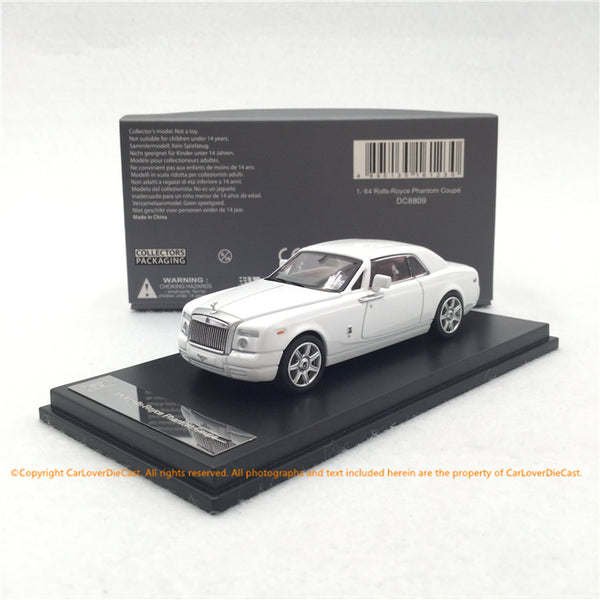 DC 1:64 Rolls Royce Phantom  Coupe diecast model (White) DC8811 available now