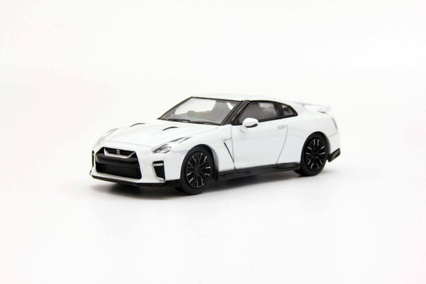Kyosho 1:64 Nissan GT-R 50th Anniversary (Blue/Pearl White) 07067 diecast model available on end of April 2020 pre-order item