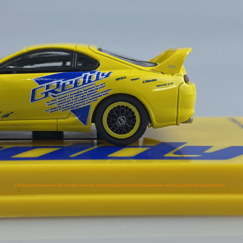 Tarmac Works 1:64 Toyota Supra Greddy (T64-011-GDY) diecast car model
