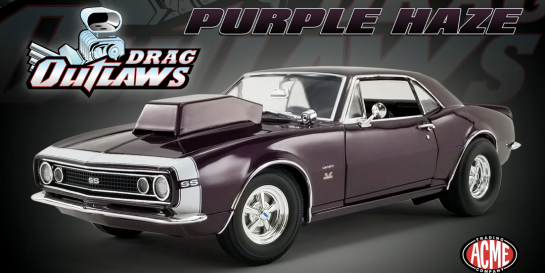 ACME 1:18 1967 Chevrolet Camaro SS