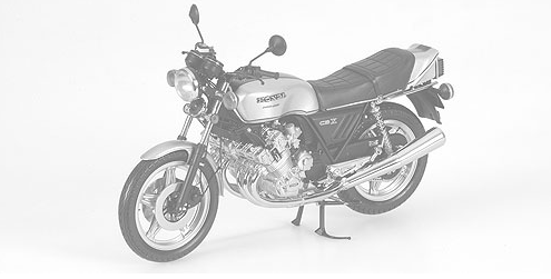 MINICHAMPS 1:12 HONDA CBX 1000 - 1978 - BLACK  (122161502) DIECAST Model Available on Q4 2021 Pre Order now