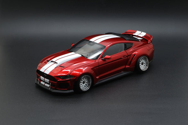 Diecast Master 1:18 Ford 2019 Red Wide Body Kit (61007/8) LHD/RHD available on the End of Feb 2021 pre order now