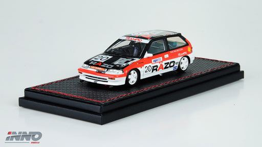 "Inno Model HONDA Civic EF3 #20 ""RAZO"" Macau Guia Race Class Winner 1989  Resin scale 1:43 available on March 2018 pre-order now IN43001-RA"
