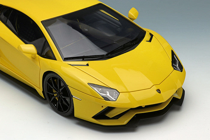 (Makeup / EIDOLON) Lamborghini Aventador S 2017 (Pearl Yellow) resin scale 1:18 EML004A available on April 2018 pre-order now