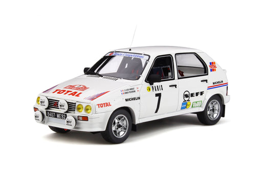 OttO Mobile 1:18 Citroën Visa 1000 Pistes Gr.B Monte-Carlo 1985 resin car model (OT306) Limited 1500 pcs available on end of Oct 2019 pre-order item