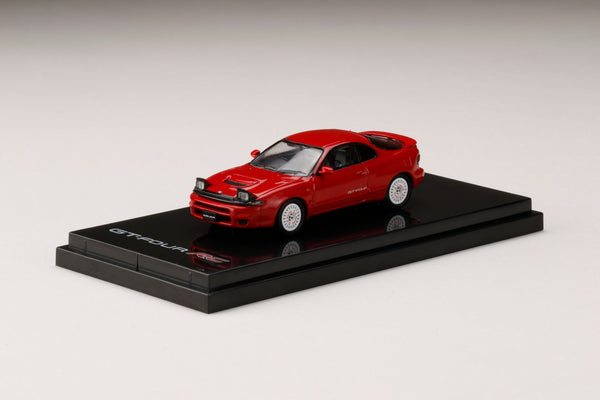 Hobby Japan 1/64 Toyota CELICA GT-FOUR RC ST185 Customized /Dish Wheel  RED (HJ641023CR) diecast car model available on Q1 2021 pre-order now