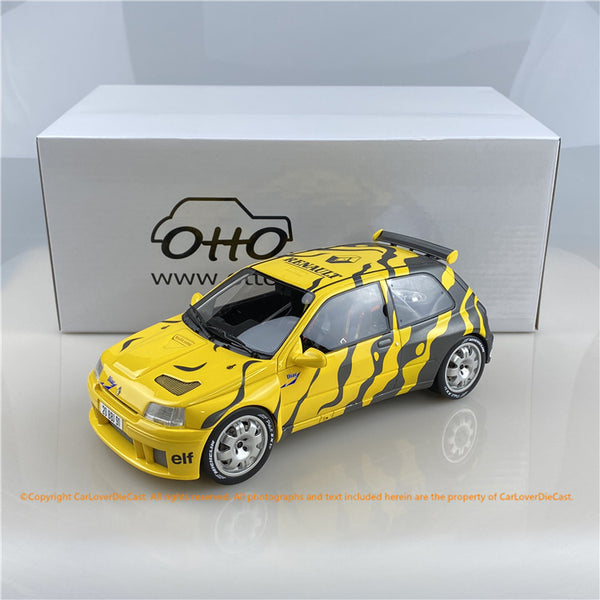OttO Mobile 1:18 Renault Clio Maxi Presentation  resin car model (OT822) Limited 3000 pcs available