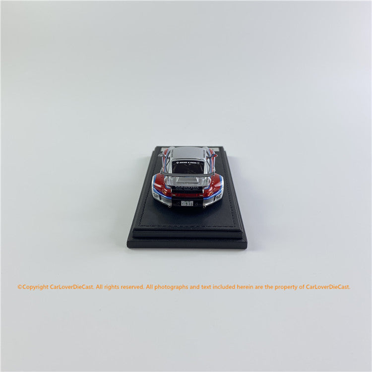 ignition Model 1:43 RWB 993 Silver/Red (IG2169) resin car model available Now