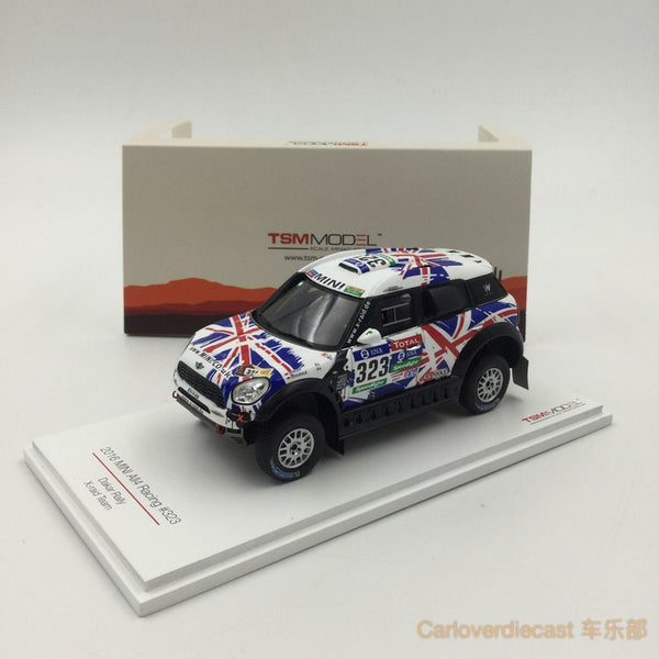 TSM - Mini All4 Racing #323 2016 Dakar Rally AXION X-road Team resin scale 1:43 (TSM430238) available now