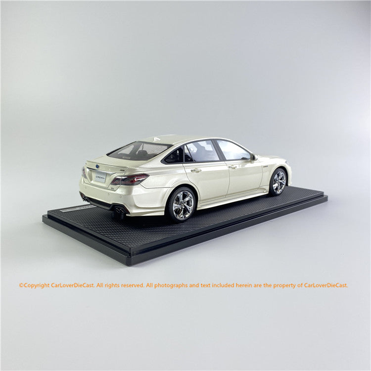 ignition Model 1:18 Toyota Crown (220) 3.5L RS Advance  White Pearl CS *Normal-Wheel(IG1681) resin car model available  now