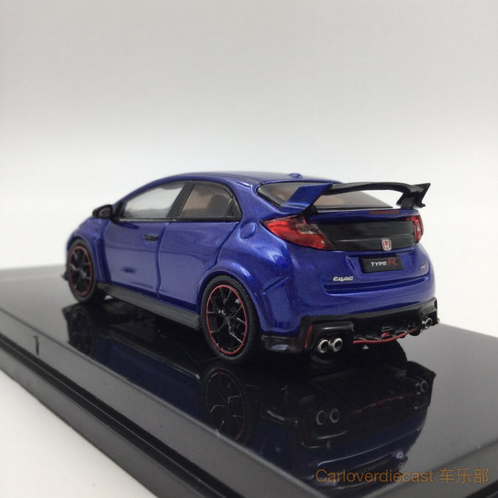 (Tarmac Works) Honda Civic Type R FK2 blue diecast scale 1:64 (T64-003-BL)