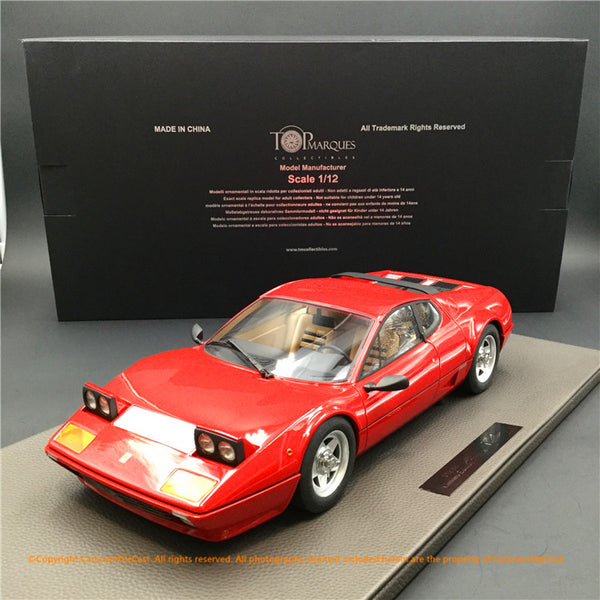 Top Marques -  512BBi (red)  1:12 resin model (TM12-09A) available now