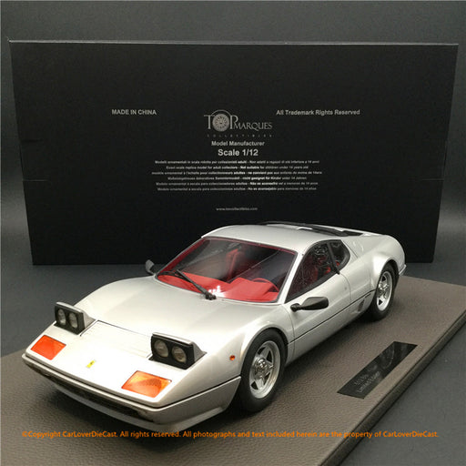 Top Marques - Ferrari 512BBi (Grey Metallic)  1:12 resin model (TM12-09C) available now
