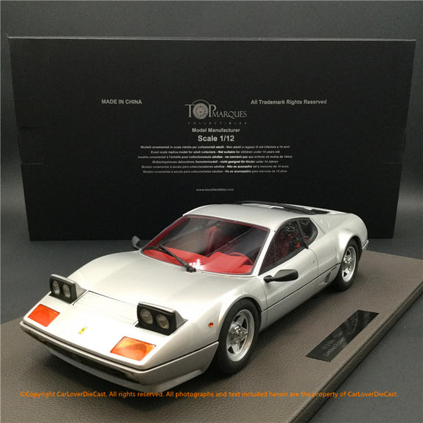 Top Marques -  512BBi (Grey Metallic)  1:12 resin model (TM12-09C) available now