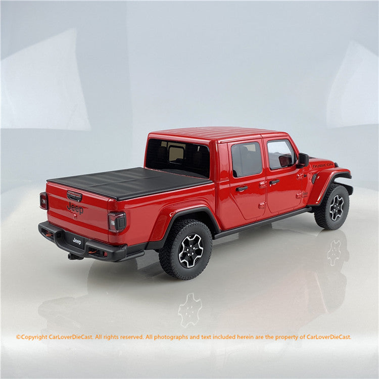 GT Spirit 1:18 2019 Jeep Gladiator Rubicon (Red) US024 US edition available  now