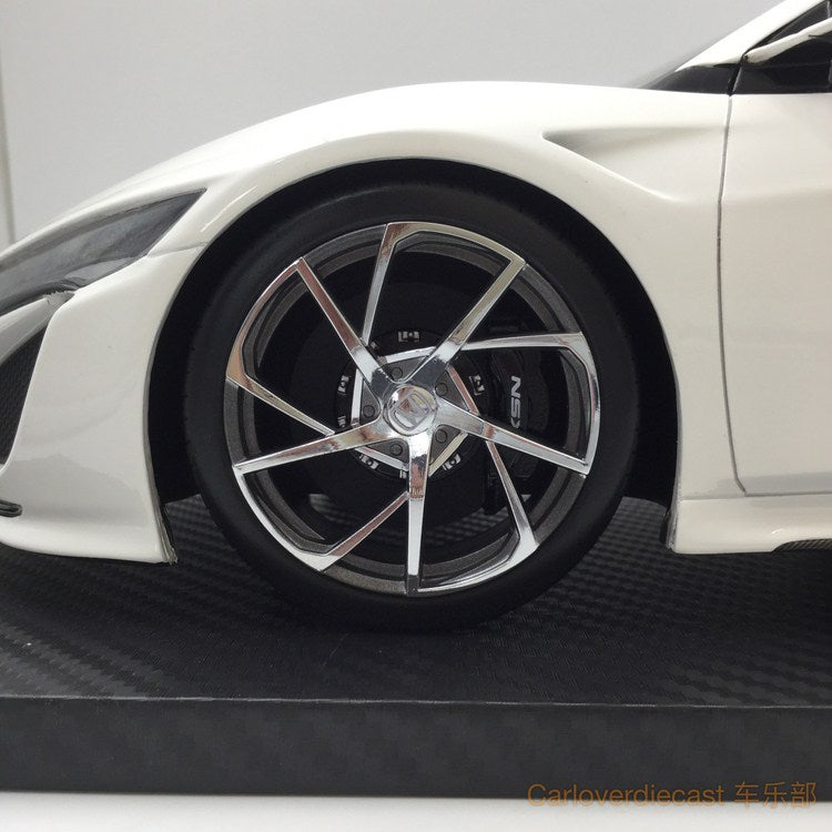 TSM Honda NSX 2017 130R  resin scale 1:12 (White Carbon Fiber Package) RHD limited 300 pcs  TSM161213 available now