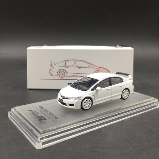 Inno Model 1:64 HONDA CIVIC Type-R FD2 White Diecast (IN64-FD2-WH)  available on Mid of Aug 2018 Pre-order now