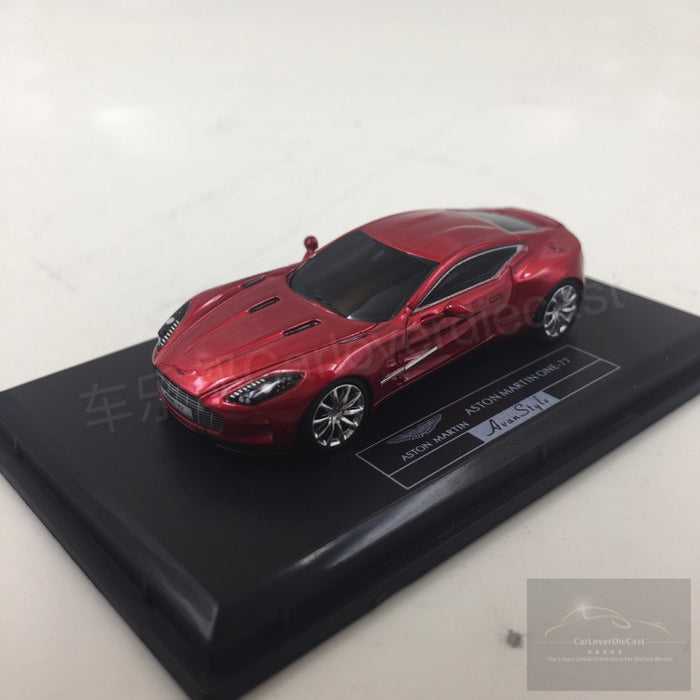 (Avanstyle) Aston Martin One 77 Resin Scale 1:87 (transparent Red) ...